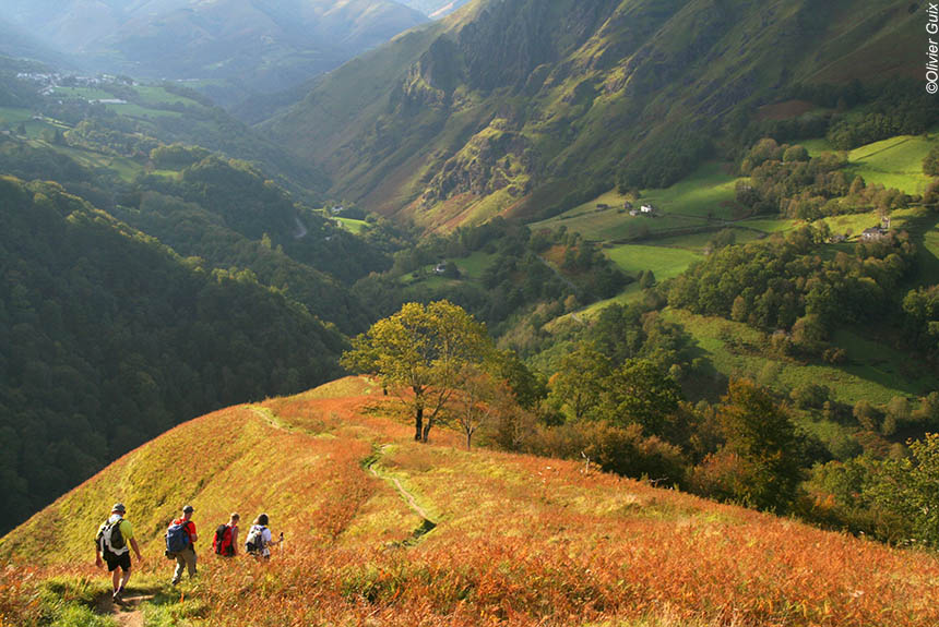 Trekking France : Pays Basque Basaburia, le charme authentique