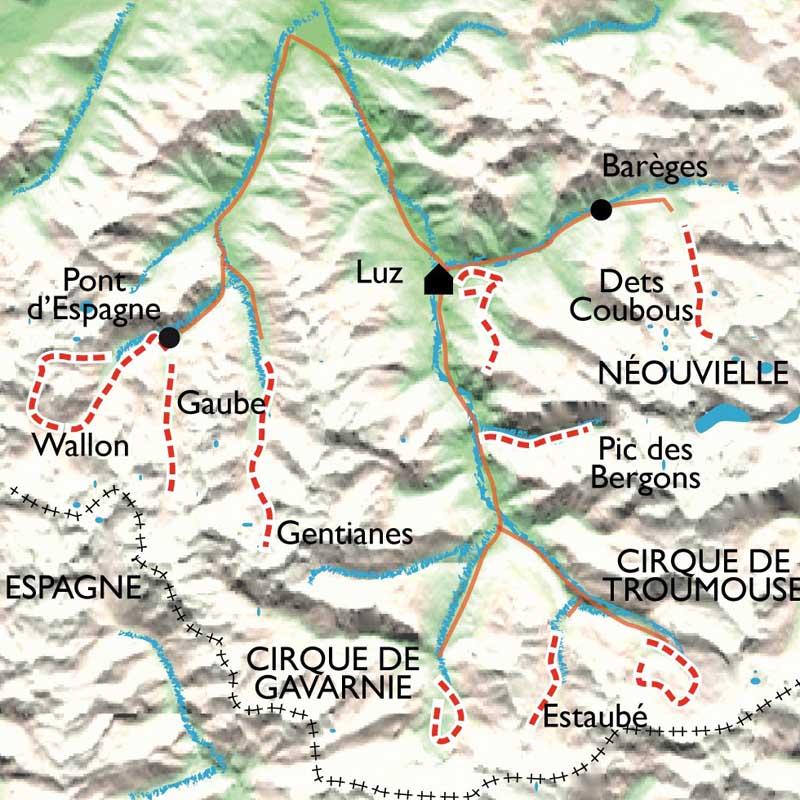 Itinéraire Balnéo Néouvielle Gavarnie, montagne, forme et bien-être