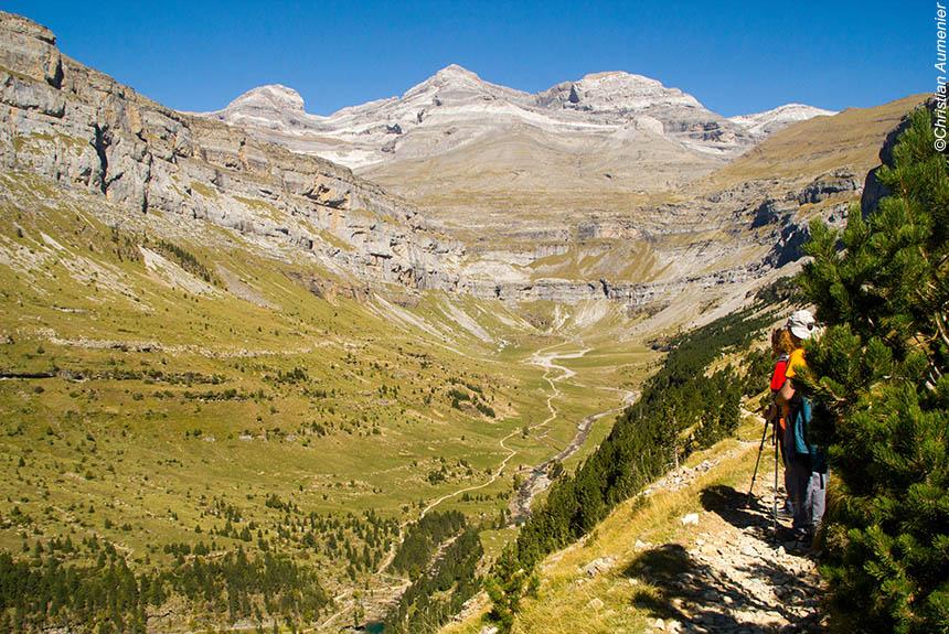 Voyage à pied : Gavarnie-Ordesa, les grands canyons en liberté