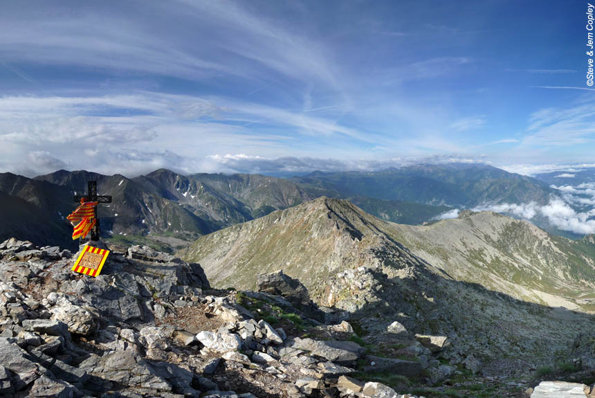 Voyage à pied France : Le Tour du Canigou, Olympe catalan