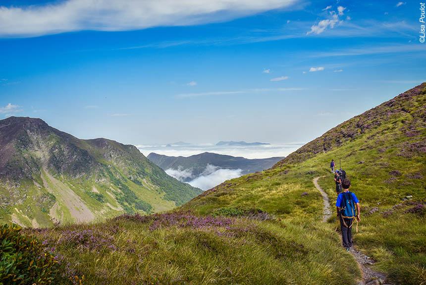 Voyage à pied : P\'tits aventuriers dans les Pyrénées
