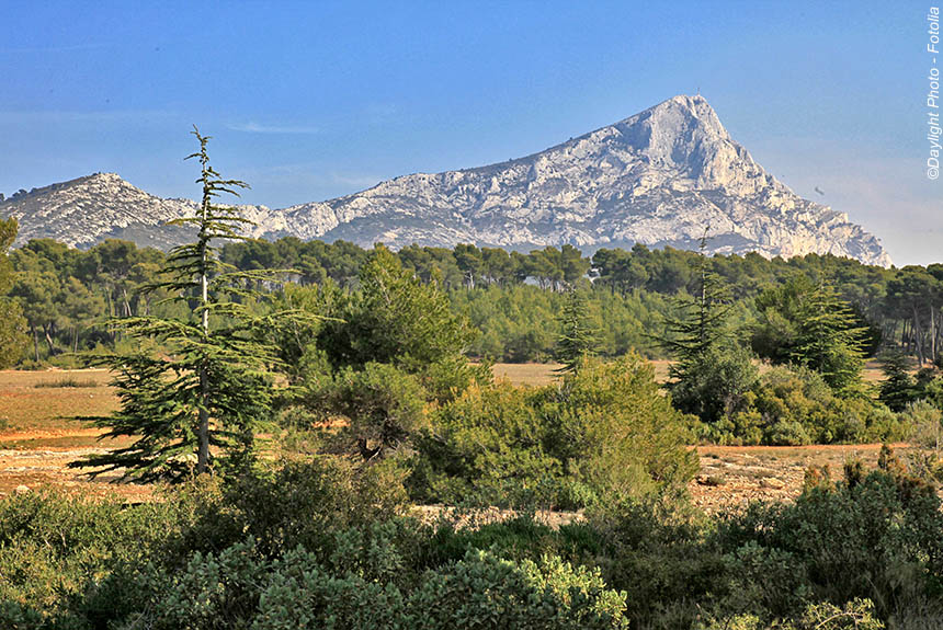Voyage à pied : Massifs provençaux : de Cézanne à Pagnol