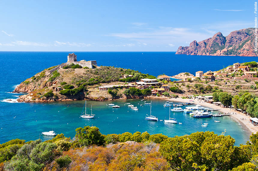 Voyage à pied France : Corsica Bella