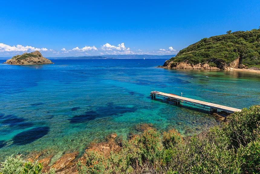 Voyage à pied France : Giens, Porquerolles, Port-Cros et les Maures