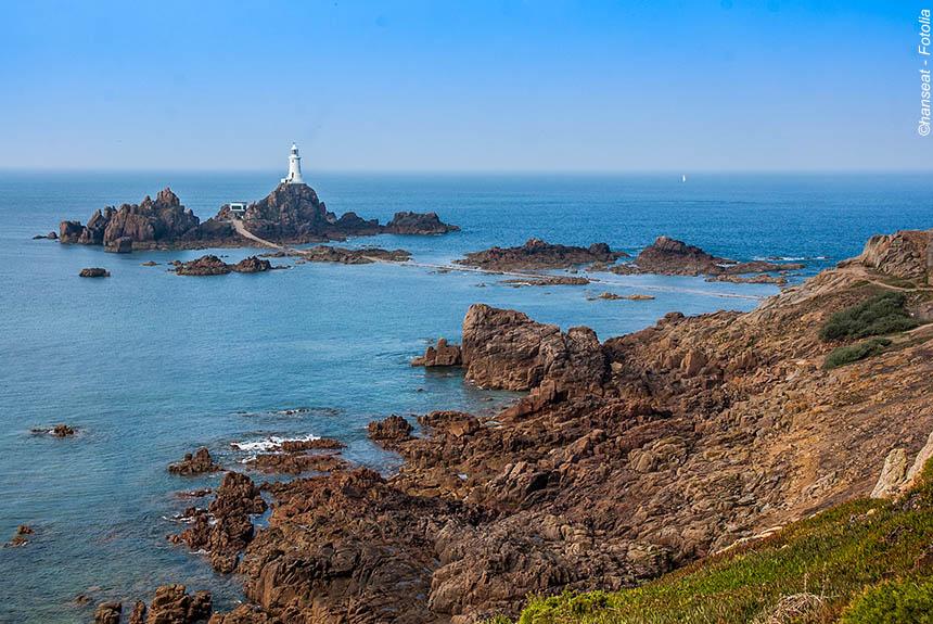 Voyage à pied : Jersey, Guernesey et Sark, les îles Anglo-Normandes