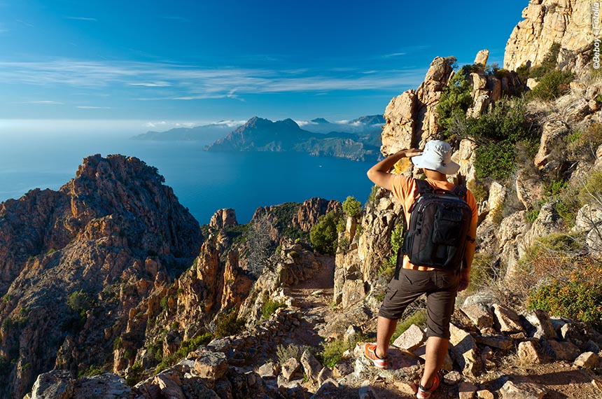 Voyage à pied France : Corse, Mare e monte, de Piana à Calvi