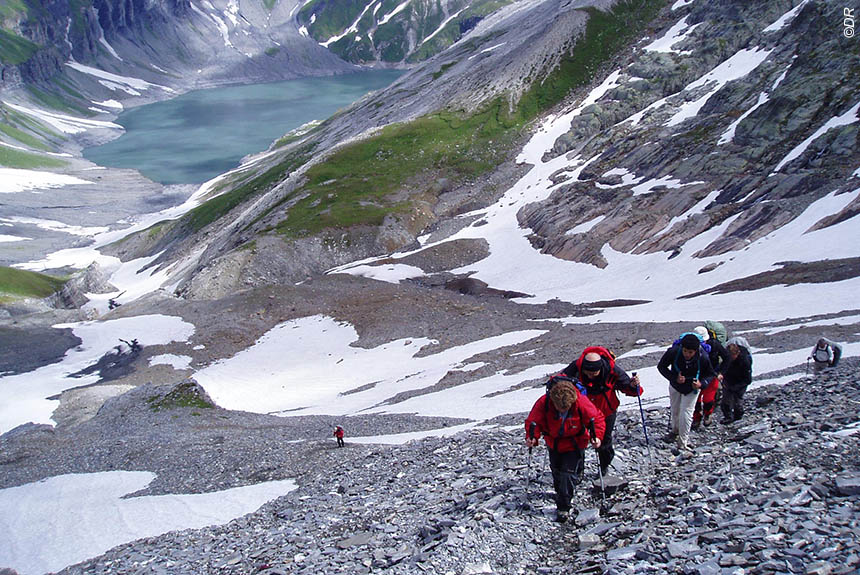 Voyage à pied : Au pays du Mont Blanc, sauvage et sportif