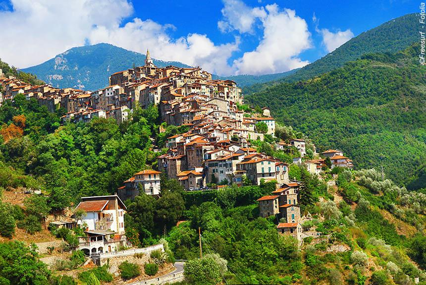 Voyage à pied Italie : Balcons de la Côte d\'Azur de Menton à San Remo