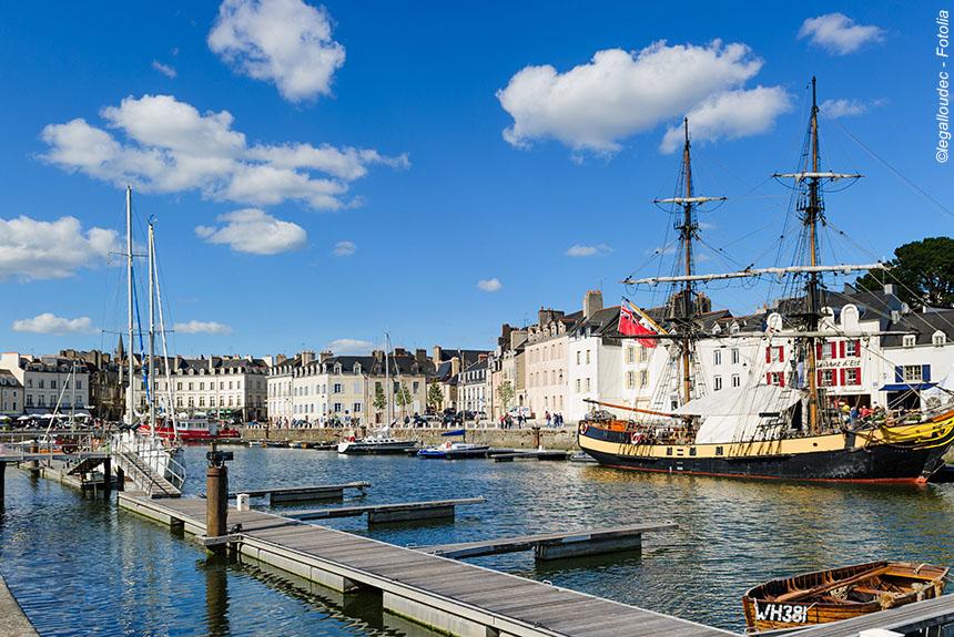 Voyage à pied : Golfe et îles du Morbihan