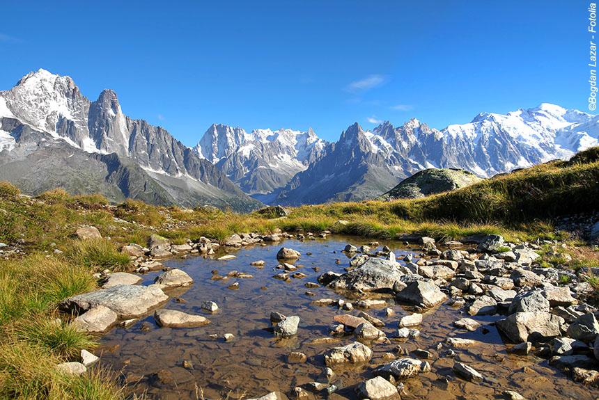 Voyage à thème France : Rando balnéo au pays du Mont Blanc
