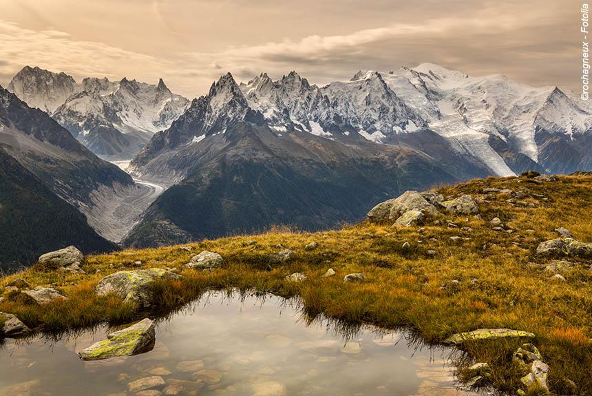 Voyage à pied France : Le Tour du Mont Blanc, partie Sud