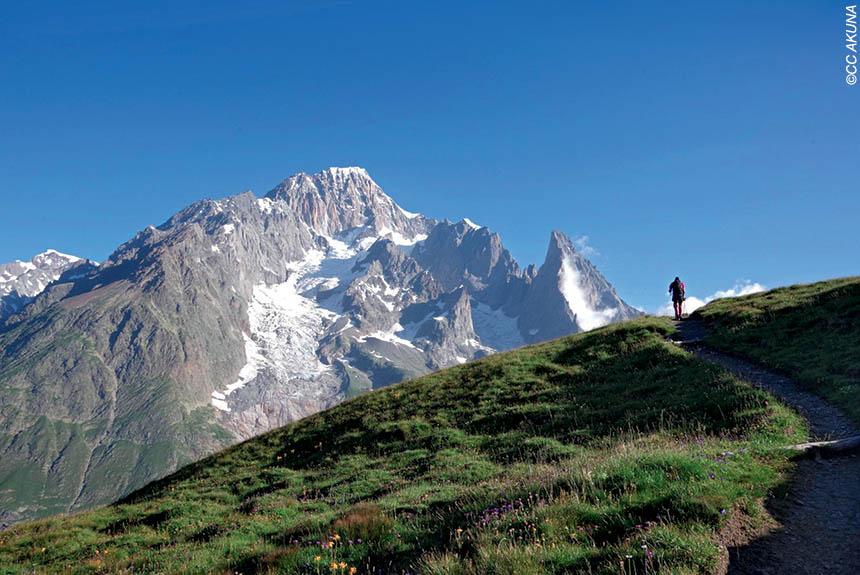 Voyage à pied : Le Tour du Mont Blanc Nord