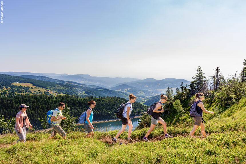 Voyage à pied France : Traversée des Hautes Vosges tout confort