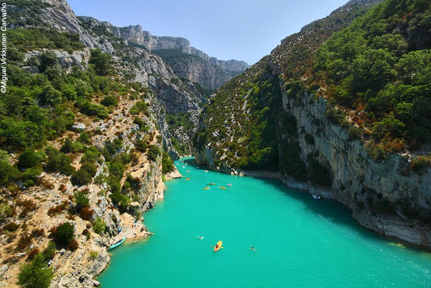Voyage à pied France : Sublime Verdon, le plus grand canyon d\'Europe