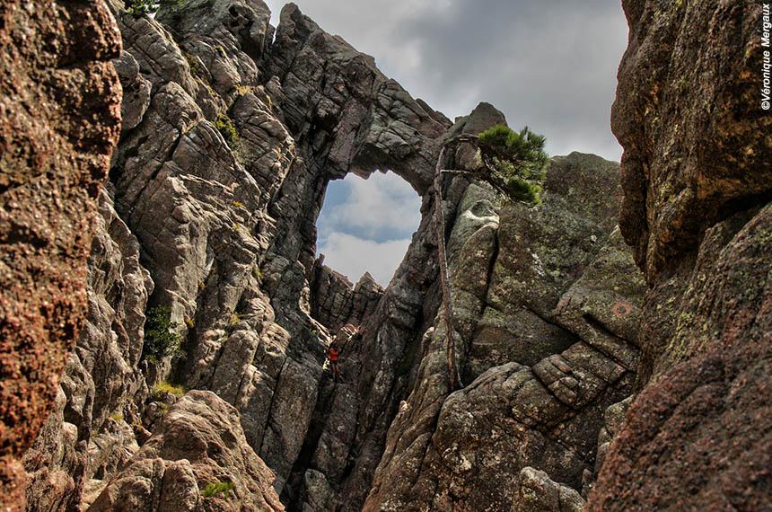 Voyage à pied France : Corse, de Bavella à l\'Alta Rocca