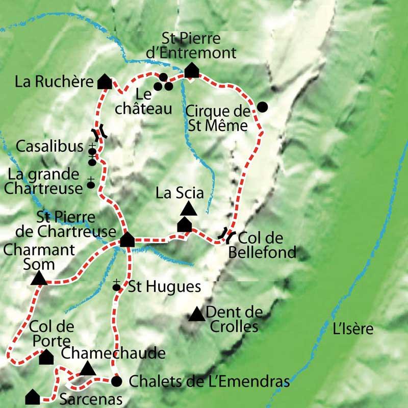 Tour de la chartreuse en libert - Office du tourisme st pierre de chartreuse ...
