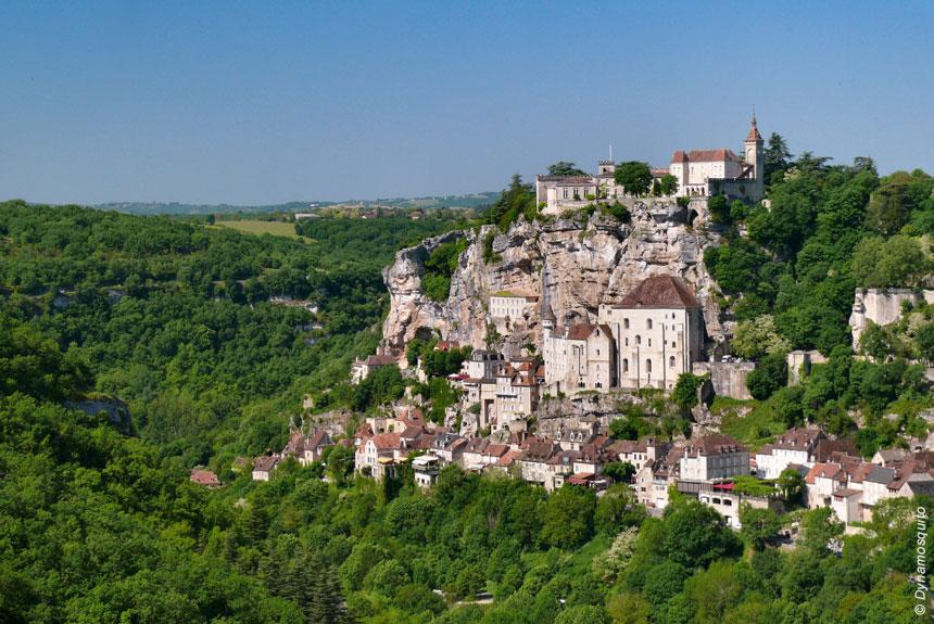 Voyage à pied France : Chemin de Compostelle, Conques - Cahors par Rocamadour
