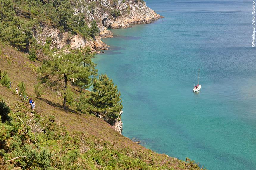 Voyage à pied France : La Presqu\'île de Crozon