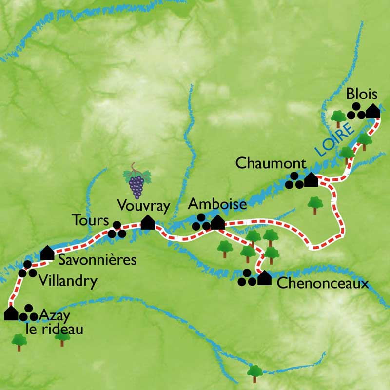 Randonne Chteaux De La Loire