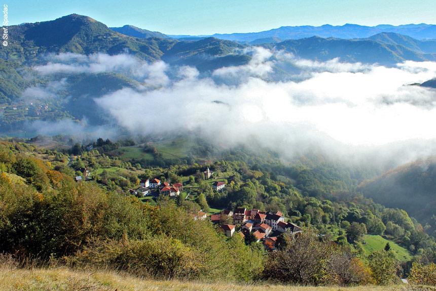 Voyage à pied France : Menton - San Remo, Les balcons de la Riviera ligure