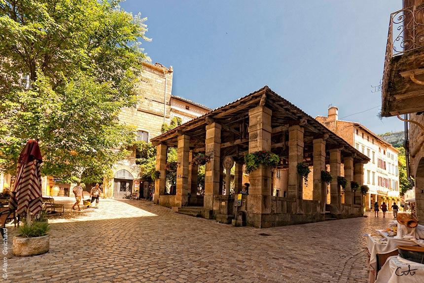 Voyage à pied France : Cités Médiévales en Quercy - Rouergue