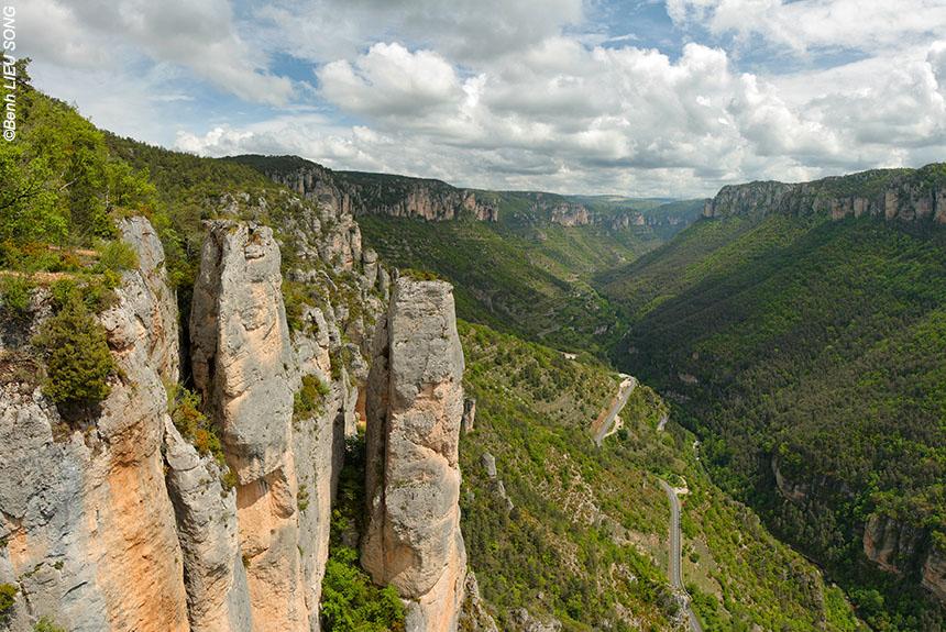 Voyage à pied : Randonnée les Gorges du Tarn et de la Jonte