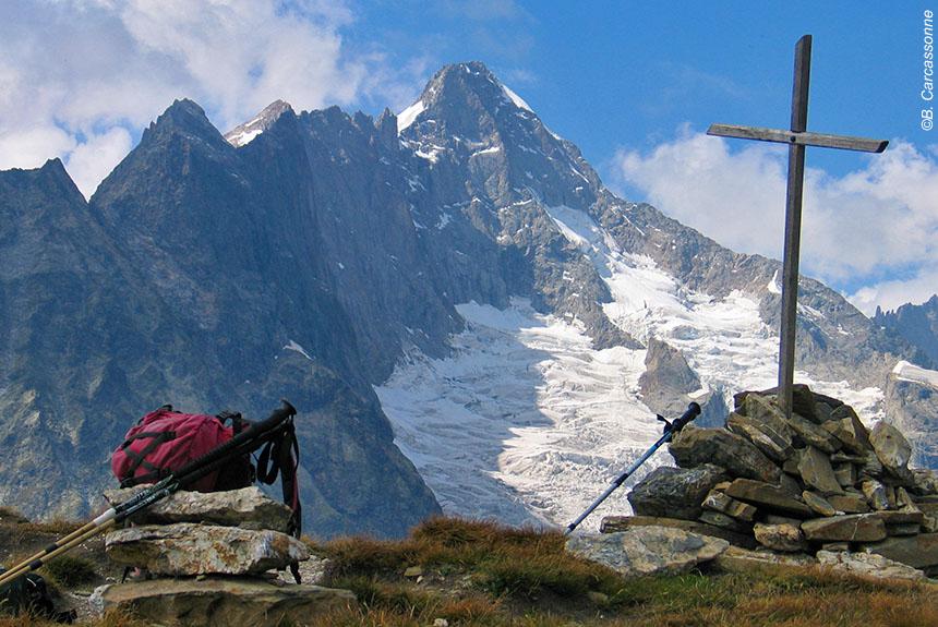 Voyage à pied France : Tour du Mont Blanc alpin et sportif