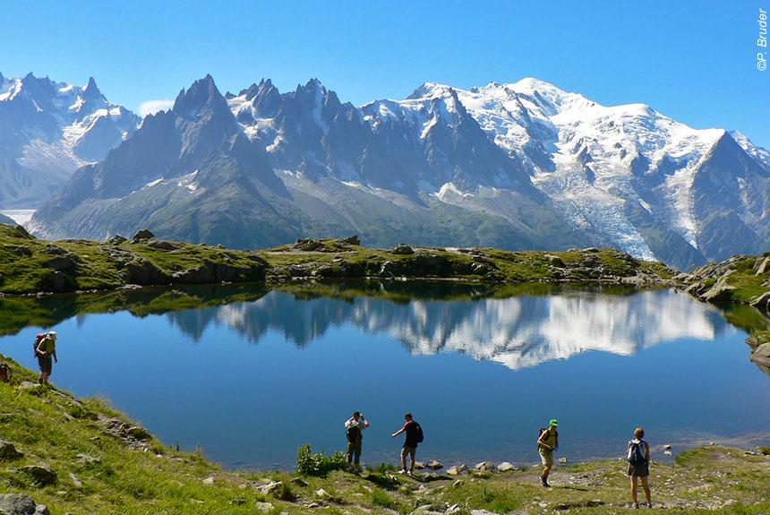 Voyage à pied : Tour du Mont Blanc Complet