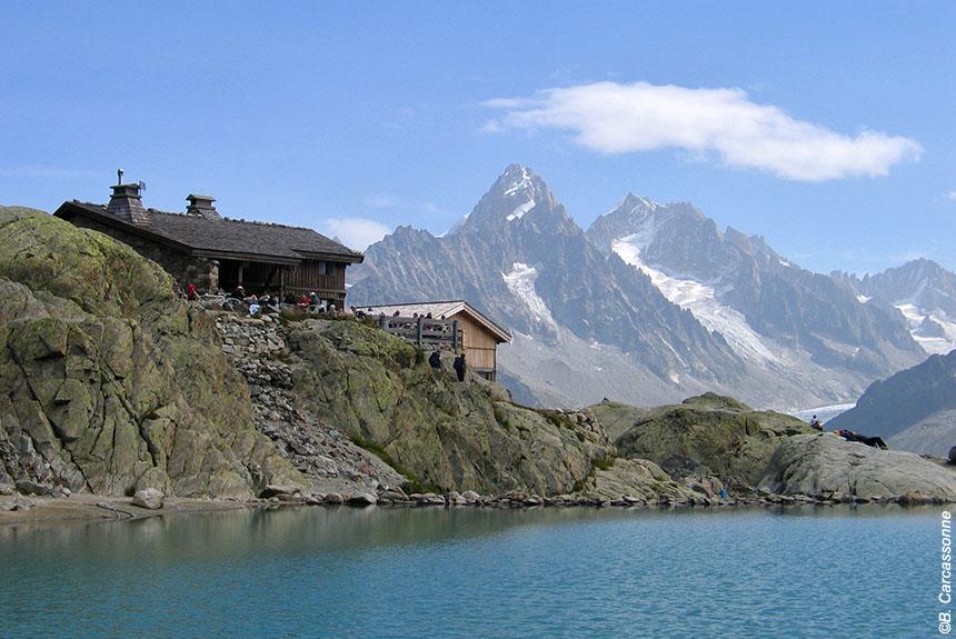 Voyage à pied France : Tour du Mont Blanc Nord