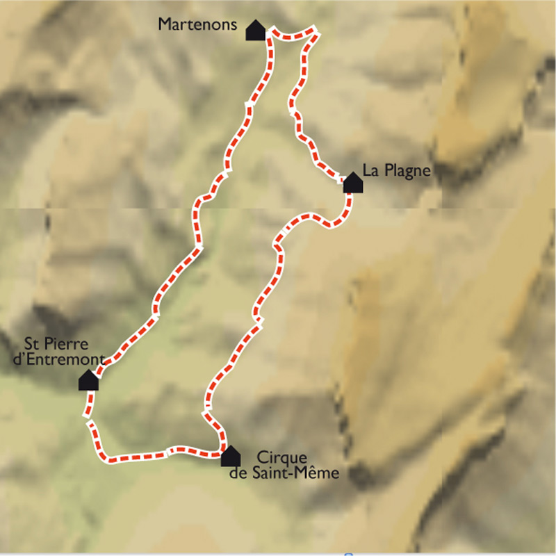 Itinéraire Avec mon âne en Chartreuse