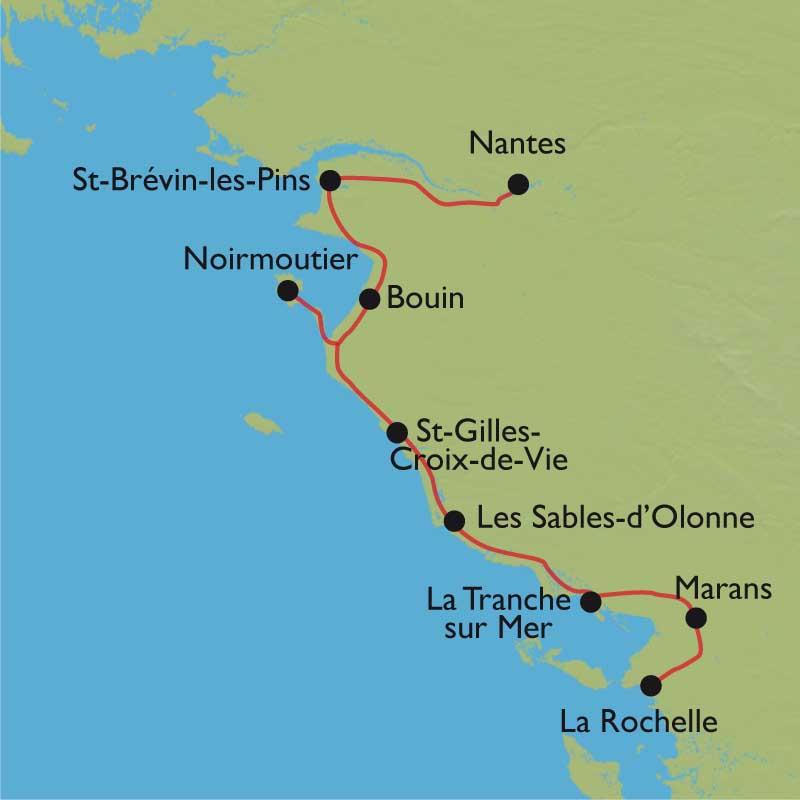 Randonn 233 E V 233 Lo Nantes La Rochelle V 233 Lodyss 233 E