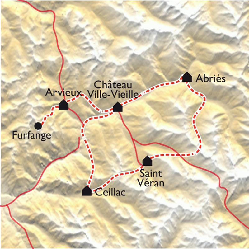 Tour Du Queyras Carte.Les Balcons Du Queyras En Vtt Electrique