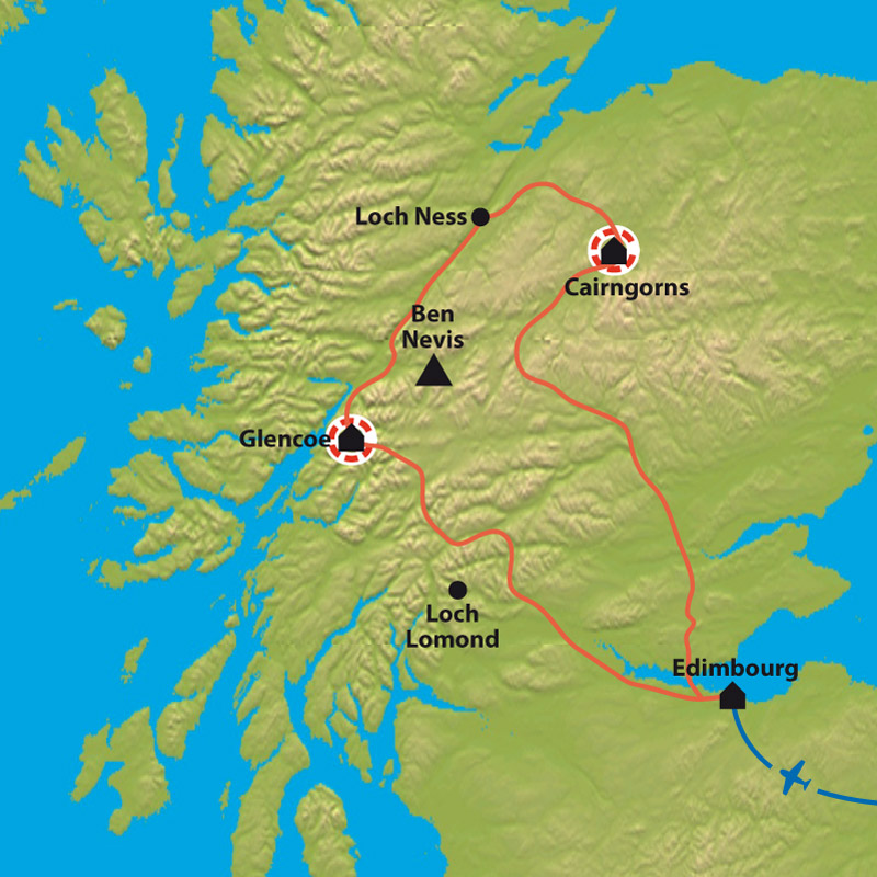 Carte Talk and Walk in the Highlands