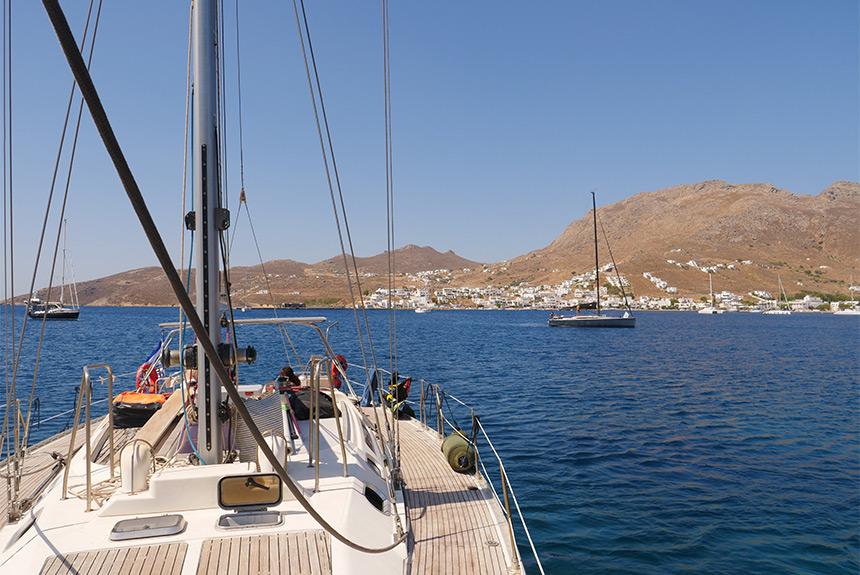 Voyage à pied Grèce : CYCLADES - Rando/bateau, au gré du vent