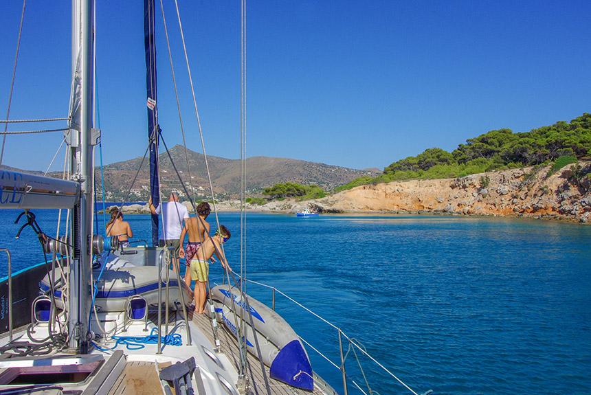 Voyage à pied Grèce : Rando/bateau, au gré du vent