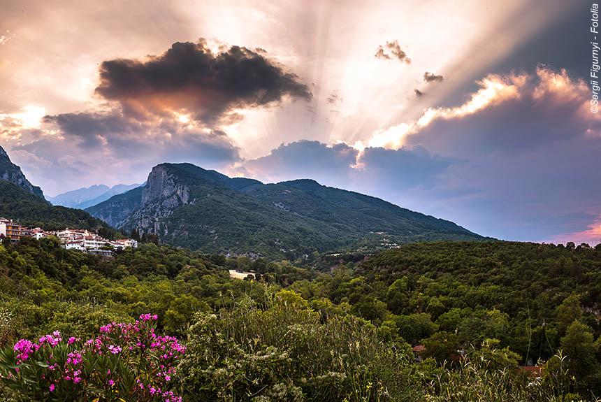 Voyage à pied Grèce : Du Mont Olympe à l\'archipel des Sporades