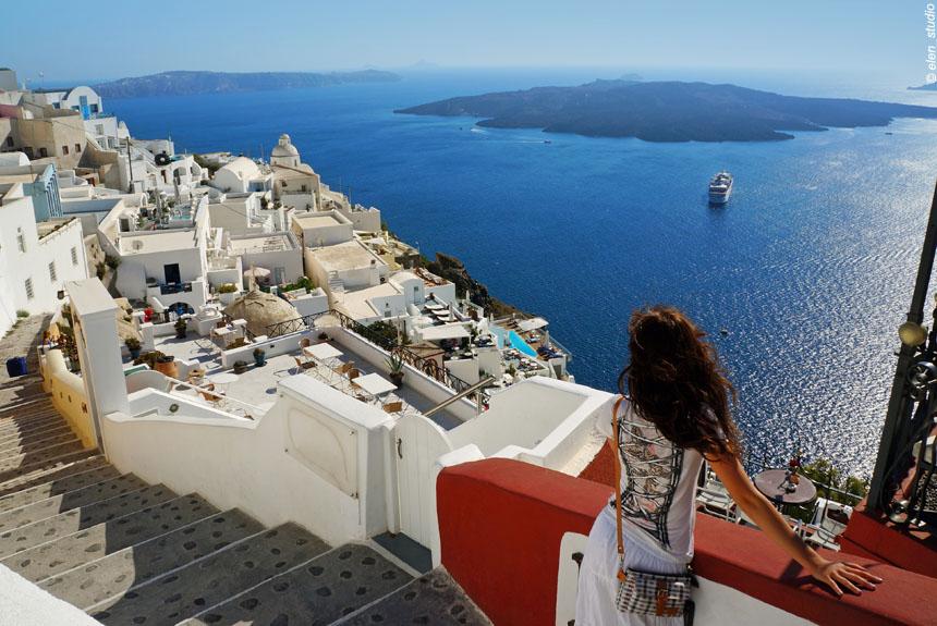 Voyage à pied : Les Cyclades - Paros, Amorgos, Santorin