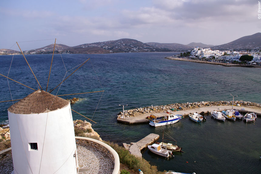 Image Les Cyclades - Paros, Amorgos, Santorin
