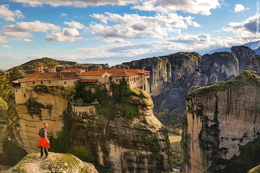 Voyage à pied Grèce : De l\'Acropole aux Météores