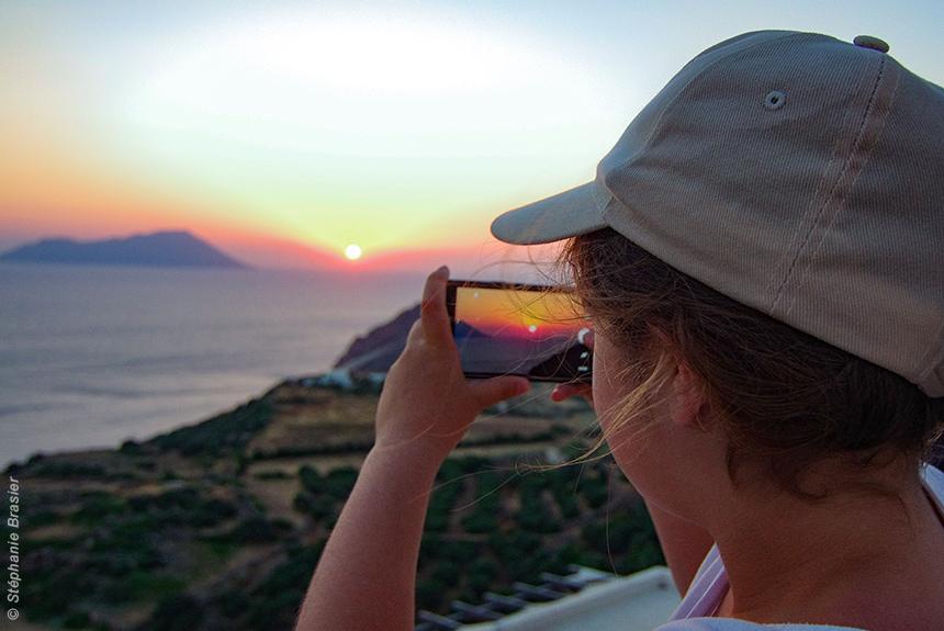 Voyage à pied Grèce : Les Cyclades - Antiparos, Paros, Santorini... et les enfants !!!