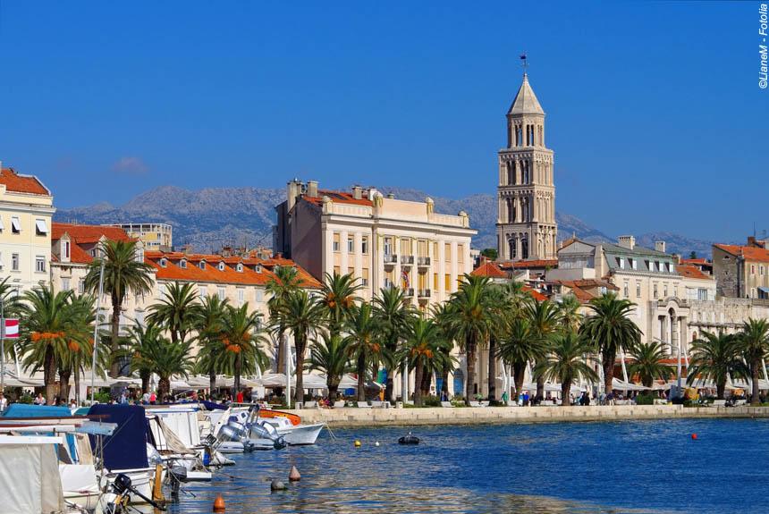 Voyage à pied Croatie : Les îles et la côte dalmate