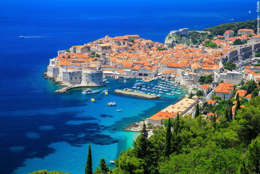 Voyage à pied : Les perles de l\'Adriatique