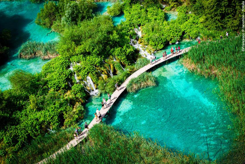 Voyage à pied : Parcs et îles de Croatie