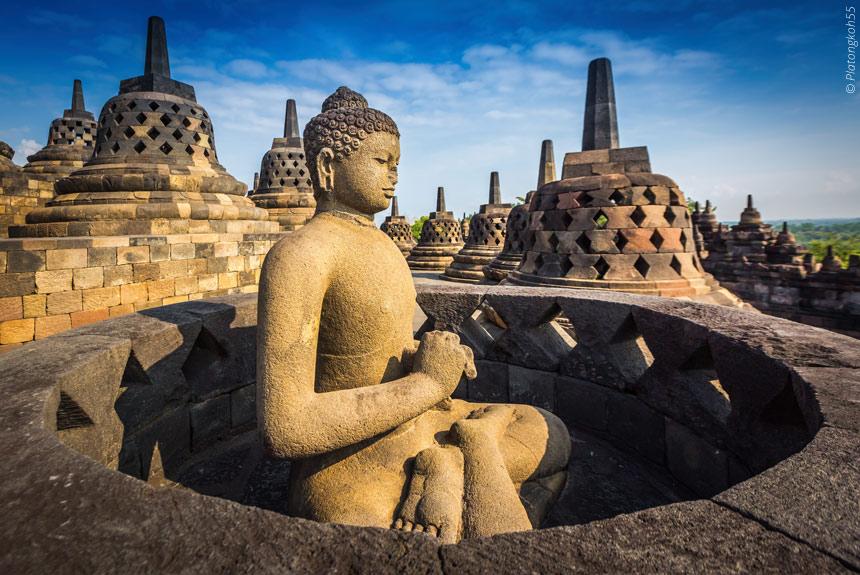 Voyage à pied Indonésie : Temples et volcans de Java