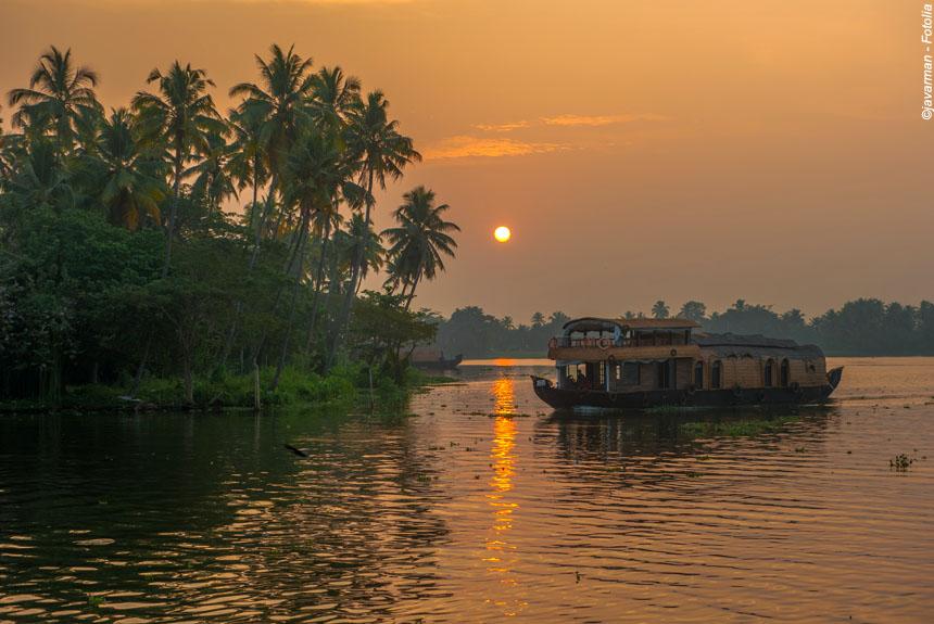 Voyage à pied Inde : Kerala, la route des épices