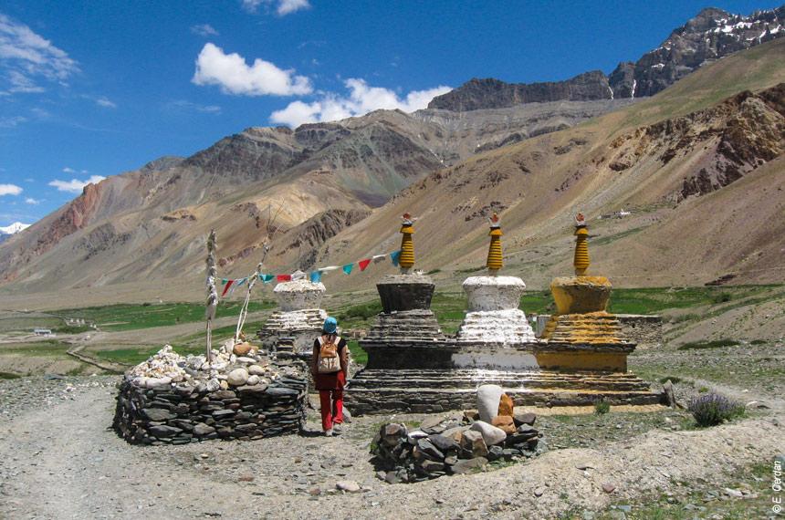 Image Randonnée et yoga au Ladakh
