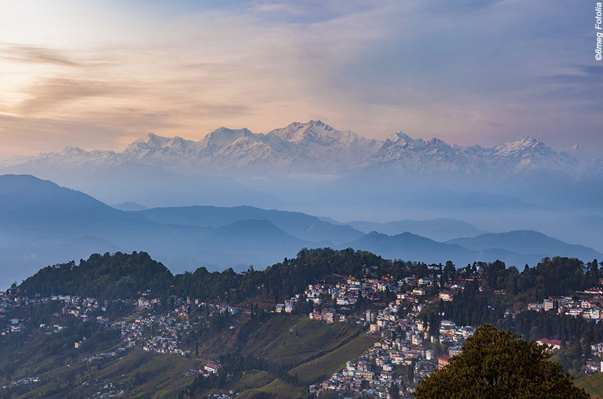 Voyage à pied : Sikkim, trek au pied du Kangchenjunga