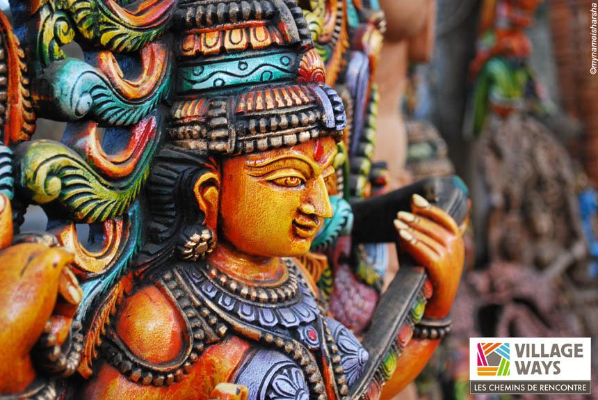 Trekking Inde : VILLAGE WAYS  Karnataka, jardins d\'épice et bord de mer