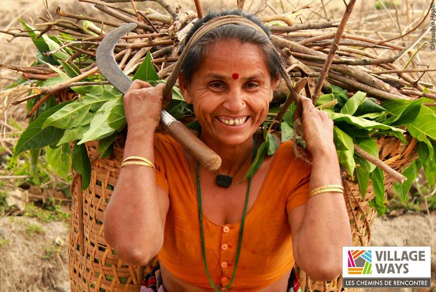 Voyage à pied Inde : VILLAGE WAYS, Binsar, le sanctuaire au pied de l\'Himalaya