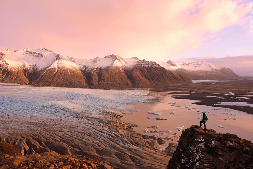Voyage à pied Islande : L\'Eau, la Terre, le Feu, la Vie